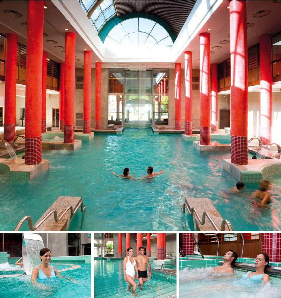 Les bains du couloubret ari ge for Hotel axe les bains